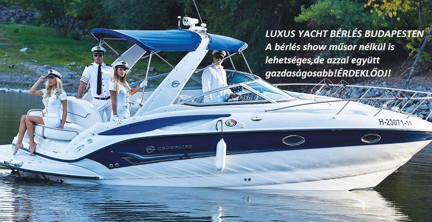 Yacht bérlés